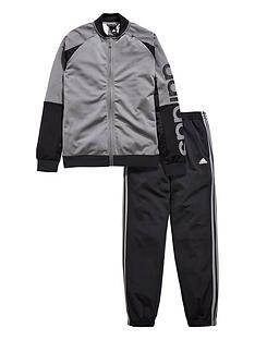 adidas-older-boys-linear-poly-tracksuit