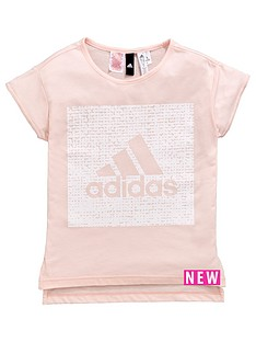 adidas-older-girls-logo-tee