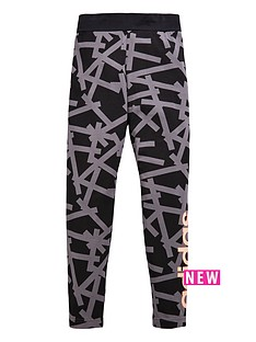 adidas-older-girls-linear-print-legging