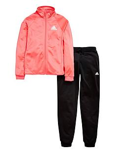 adidas-older-girls-poly-tracksuit
