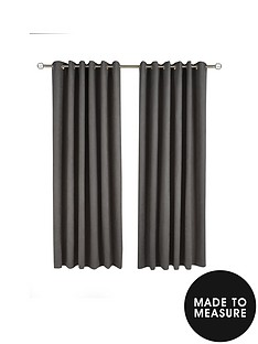 made-to-measure-faux-suede-eyelet-curtains-ndash-charcoal