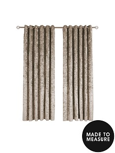made-to-measure-luxury-crushed-velvet-eyelet-curtains-ndash-champagne