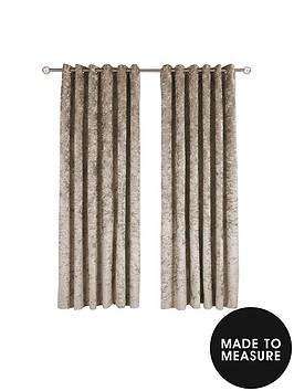 made-to-measure-luxury-crushed-velvet-eyelet-curtains-ndash-champagne