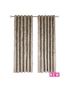 mmade-to-measure-luxury-crushed-velvet-eyelet-curtains-ndash-champagne