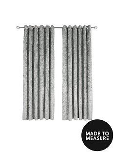 made-to-measure-luxury-crushed-velvet-eyelet-curtains-ndash-steel