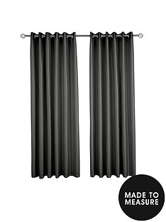 made-to-measure-faux-silk-eyelet-curtains-ndash-black