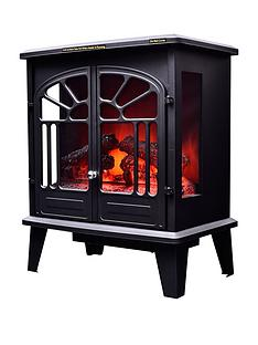 swan-sh2060-1900-watt-freestanding-electric-stove-fire-with-remote-control-black