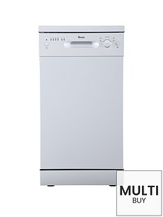 swan-sdw7050w-9-place-setting-slimline-freestanding-dishwasher-white