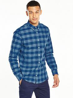 tommy-hilfiger-block-check-chambray-shir