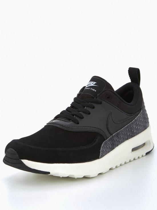 20d56538f83c Nike Air Max Thea Premium - Black   very.co.uk