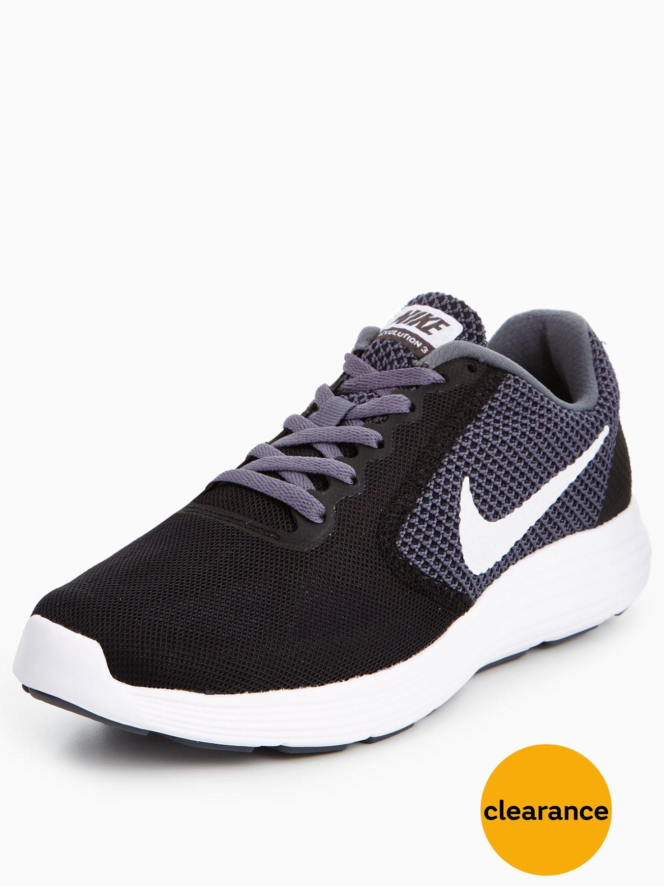 Nike Revolution 3 Black/White 1600164092 Women's Shoes Nike Trainers