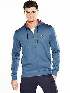 lyle-scott-fitness-lyle-amp-scott-sport-hill-fleece-hooded-track-top
