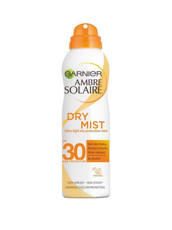 Ambre Solaire Dry Mist Fast Absorbing Sun Cream Spray SPF30 200ml