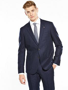 Photo of Tommy hilfiger tommy hilfiger graham micro print suit jacket