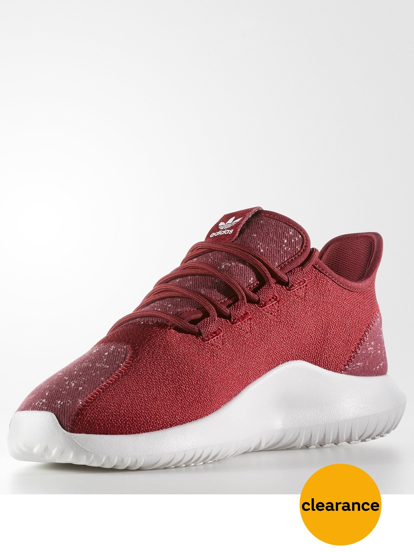 adidas Originals Tubular Shadow Burgundy 1600163618 Men's Shoes adidas Originals Trainers