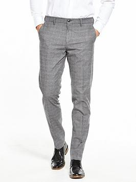 Tommy Hilfiger Hampton Checked Trouser, Grey Check, Size 40, Inside Leg Regular, Men thumbnail