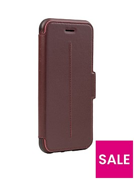 otterbox-strada-folio-case-for-apple-iphone-66s78-chic-revival-burgundy