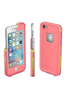 otterbox-apple-iphone-66s-lifeproof-fre-case-sunset-pink