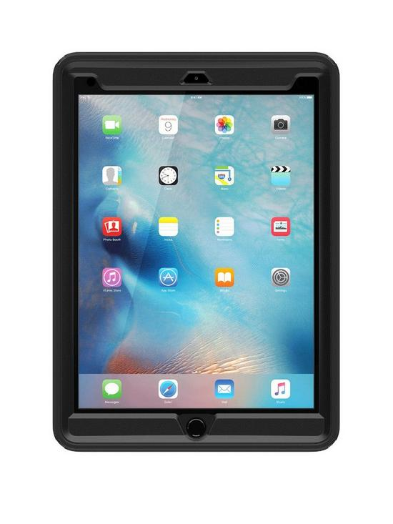 new product 11ee0 1cf17 Apple iPad Pro 9.7 Defender case - Black