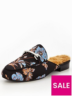 v-by-very-hayley-floral-tapestry-faux-fur-trim-backless-loafer-blue-floral
