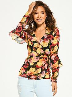 myleene-klass-ruffle-front-blouse