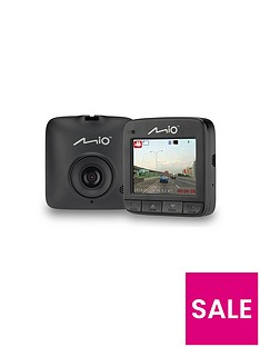 Mio MiVue C310 Dash Cam with 720p HD, 3 Axis G-Sensor, 2.3-inchLCD Screen Best Price, Cheapest Prices