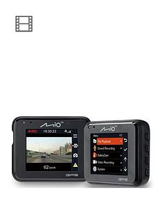 Mio MiVue C330 Dash Cam with 1080p recording, GPS, Safety Camera Alerts, 3 Axis G-Sensor and 2-inch LCD Screen Best Price, Cheapest Prices