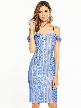 river-island-blue-bodycon-dress