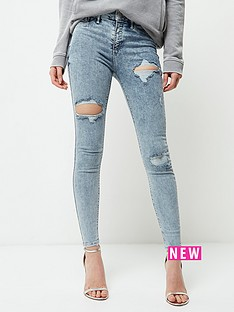 river-island-blue-molly-jegging