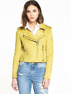 river-island-yellow-biker-jacket