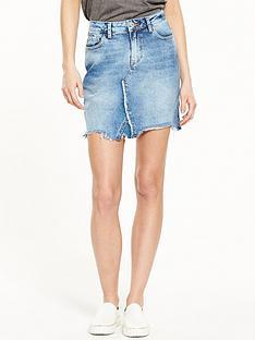 river-island-denim-mini-skirt-with-rips