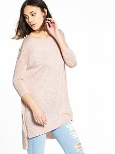 river-island-pink-zip-side-jumper