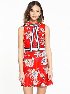 river-island-printed-tailored-dress