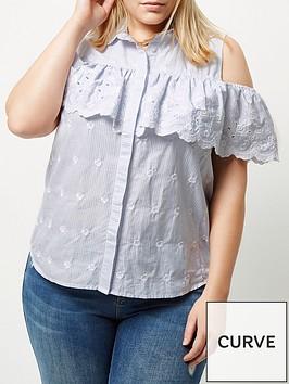 river-island-ri-plus-christina-cold-shoulder-shirt