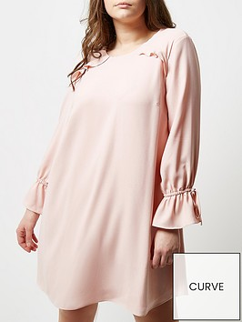 ri-plus-smock-dress-pink