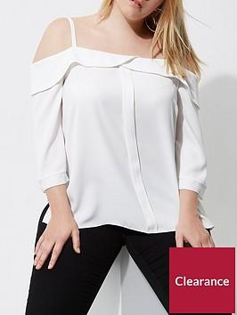 ri-plus-white-bardot-top