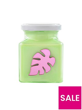 flamingo-candles-metallic-pink-palm-leaf-candle