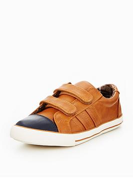 v-by-very-boys-zac-velcro-strap-trainers-brown