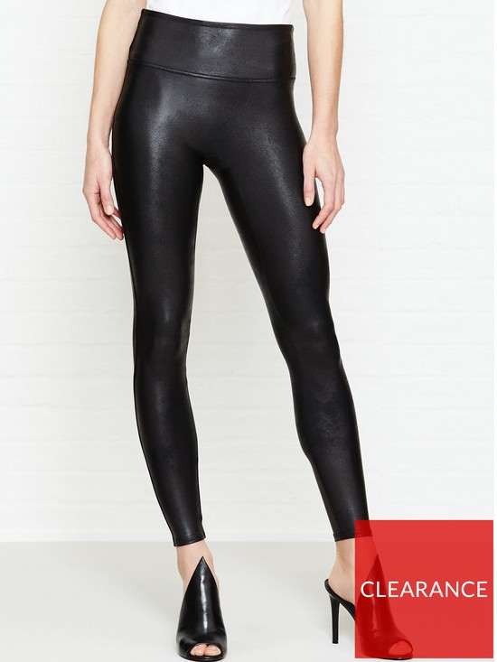 d8ff827b515a6 SPANX Faux Leather Legging - Black | very.co.uk