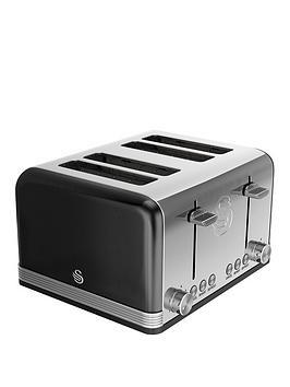 swan-st19020bn-4-slice-retro-toaster-black