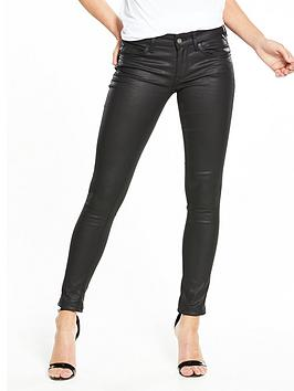 Luz Coated Skinny Jean
