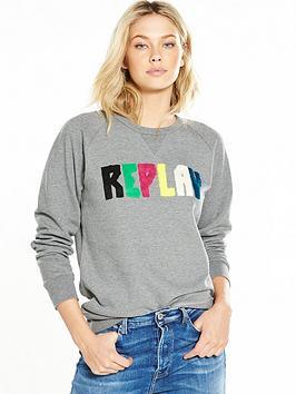 replay-logo-sweat-top