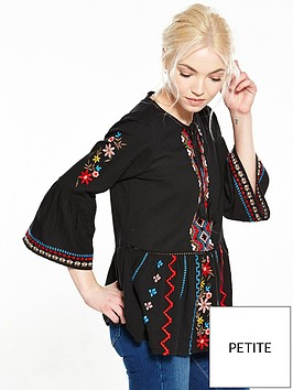 ri-petite-embroidered-smock-top