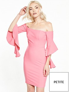 ri-petite-frill-bardot-bodycon-dress