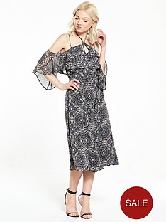 ri-petite-printed-cold-shoulder-maxi
