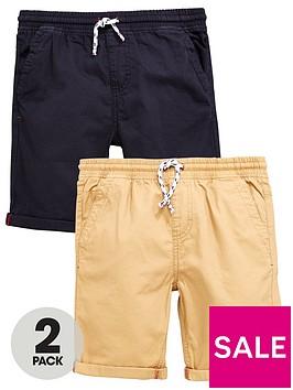 v-by-very-2pk-woven-shorts-black-tan