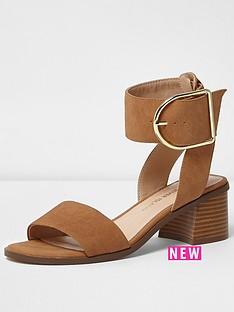 river-island-river-island-block-heel-buckle-sandal