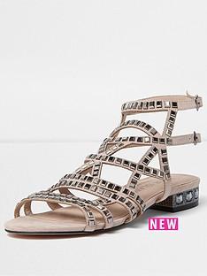 river-island-river-island-embellished-wide-fit-sandal