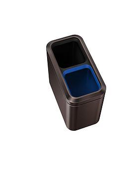simplehuman-simplehuman-slim-open-recycler-bin-20-litre