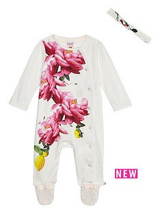 baker-by-ted-baker-baby-girls-floral-print-sleepsuit-amp-headband